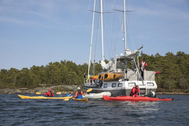 Kayak Lake Vänern